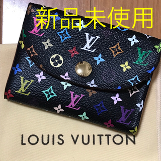 LOUIS VUITTON - 【新品】LOUIS VUITTON マルチカラー カードケース