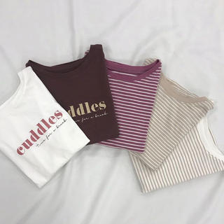 one after another NICE CLAUP - ナイスクラップ ロゴTシャツ