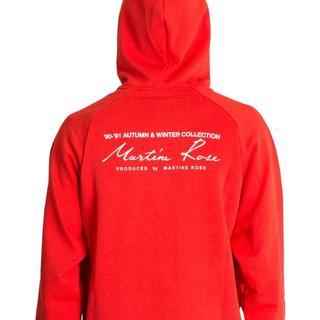 コムデギャルソン(COMME des GARCONS)のmartine rose classic rogo hoodie(パーカー)
