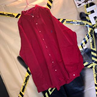 ポロラルフローレン(POLO RALPH LAUREN)のポロ ラルフローレン ワンポイント ポニー 刺繍 ビッグ プレーン シャツ 古着(シャツ)