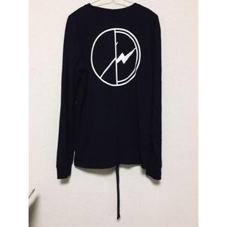 ピースマイナスワン(PEACEMINUSONE)の新品⭐PEACEMINUSONE x FRAGMENT ロングスリーブ(Tシャツ/カットソー(七分/長袖))