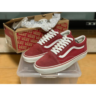 VANS - 希少 VANS Old Skool Brick Red us9.5 27.5cm
