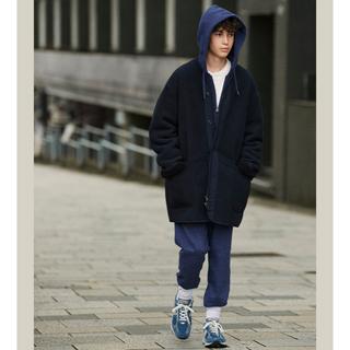 Engineered Garments - XSサイズ! ユニクロ ×  エンジニアド ガーメンツ フリースノーカラーコート