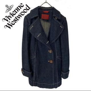 ヴィヴィアンウエストウッド(Vivienne Westwood)のヴィヴィアンウエストウッド デニムコート アウター ジャケット ロングピーコート(ロングコート)