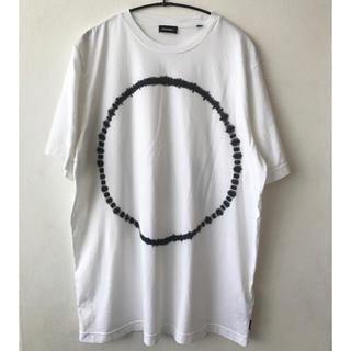 ディーゼル(DIESEL)のディーゼル 半袖Tシャツ 白 DIESEL ホワイト Mサイズ 美品(Tシャツ/カットソー(半袖/袖なし))