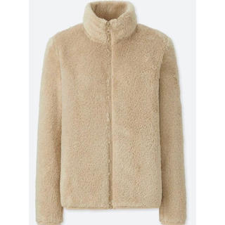 ユニクロ(UNIQLO)のファーリーフリースフルジップジャケット(毛皮/ファーコート)