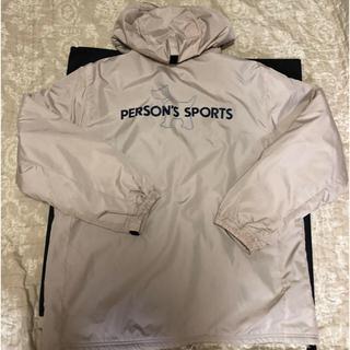 パーソンズ(PERSON'S)のパーソンズ☆内側フリース素材の暖かなベージュのジャンパー!Lサイズ(ブルゾン)