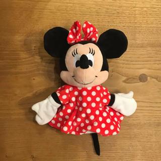 Disney - ミニー ぬいぐるみ パペット