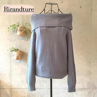 Rirandture - 【美品】 Rirandture リランドチュール オフショルニット 2