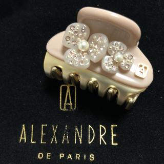 アレクサンドルドゥパリ(Alexandre de Paris)の新品 アレクサンドルドゥパリ カメリアクリップ 4.5㎝(バレッタ/ヘアクリップ)