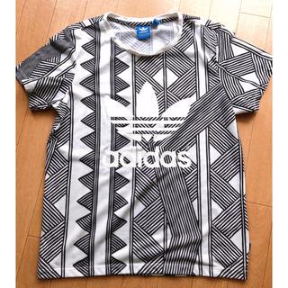 adidas - アディダスオリジナルス Tシャツ 幾何学模様