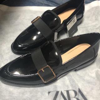 ザラ(ZARA)のZARAローファー37(ローファー/革靴)