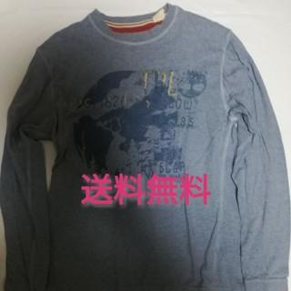 ティンバーランド(Timberland)のS/P 【ティンバーランド】 長袖Tシャツ 水色 (Tシャツ/カットソー(七分/長袖))