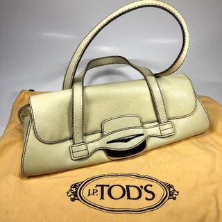 TOD'S - 【美品】トッズ ショルダーバッグ アイボリー 保存袋付