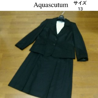 AQUA SCUTUM - アクアスキュータムブラックフォーマルスーツ