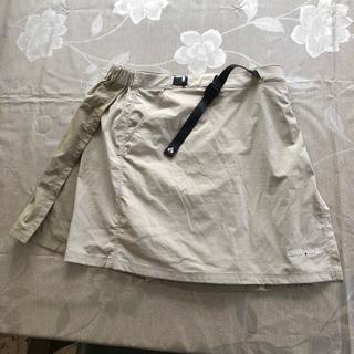 mont bell - モンベルアウトドアキュロットスカート