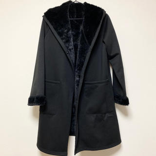 神戸レタス - 神戸レタス KOBE LETTUCE ファー裏地フードコーディガン [K766]