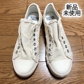 コーエン(coen)の【新品】コーエン キャンバススリッポン M(スリッポン/モカシン)