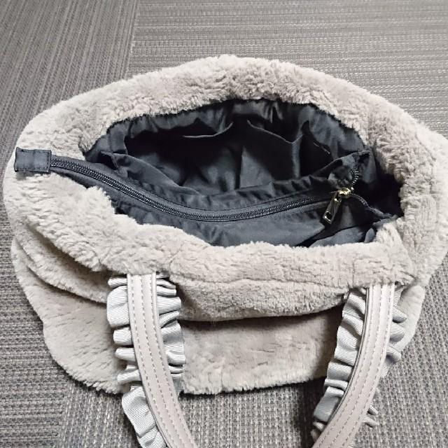 しまむら(シマムラ)のファーバッグ レディースのバッグ(ハンドバッグ)の商品写真