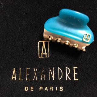 アレクサンドルドゥパリ(Alexandre de Paris)の新品 アレクサンドルドゥパリ 3㎝クリップ(バレッタ/ヘアクリップ)