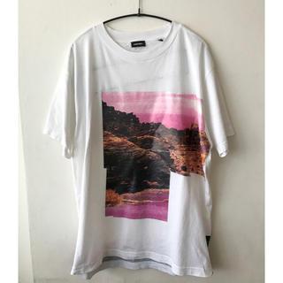 ディーゼル(DIESEL)のディーゼル DIESEL   プリントTシャツ Mサイズ(Tシャツ/カットソー(半袖/袖なし))