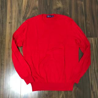 ポロラルフローレン(POLO RALPH LAUREN)のラルフローレン パープルレーベル ラルフ 美品 ニット セーター 綿 カシミヤ(ニット/セーター)