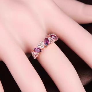 リーフカットCZダイヤモンドリング(リング(指輪))