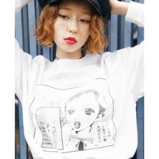 ジュエティ(jouetie)のjouetie ご近所物語 シーンカットロンT(Tシャツ(長袖/七分))