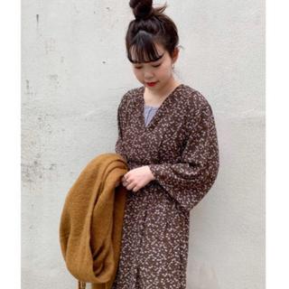 Kastane - 新品タグ付き シフォン小花柄カシュワンピース
