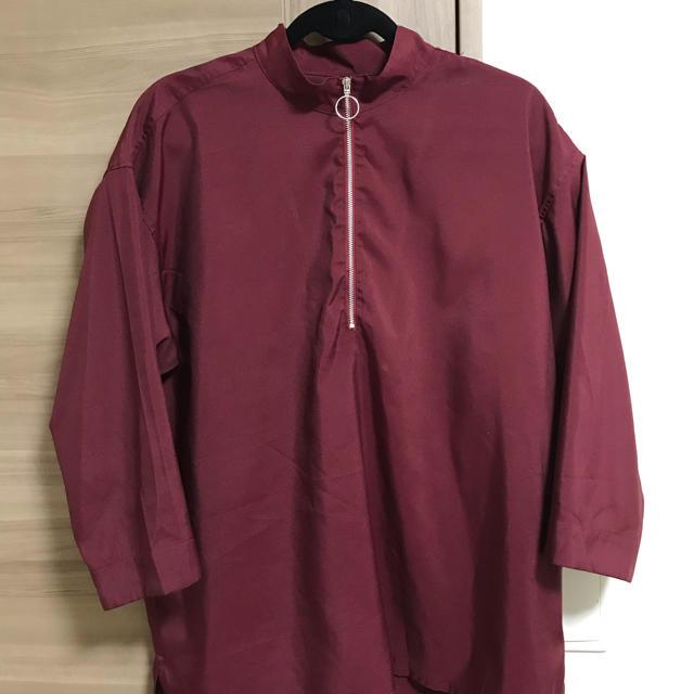 RAGEBLUE(レイジブルー)のリングジップシャツ レディースのトップス(シャツ/ブラウス(長袖/七分))の商品写真