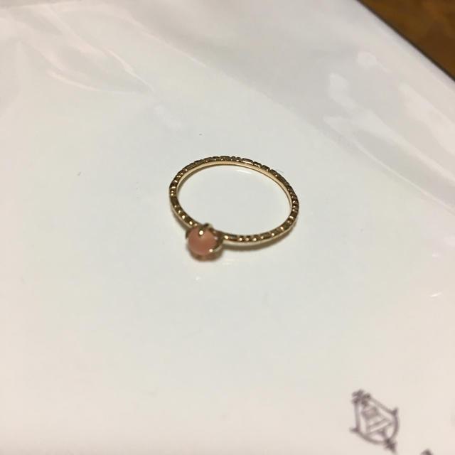インカローズ ピンキーリング 5号 レディースのアクセサリー(リング(指輪))の商品写真