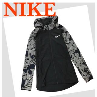 NIKE - ナイキ フレッシュ エッセンシャル ハーフジップジャケット☆ブラック