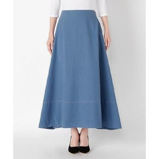 マディソンブルー(MADISONBLUE)の新品 マディソンブルー フレアスカート 01(ロングスカート)