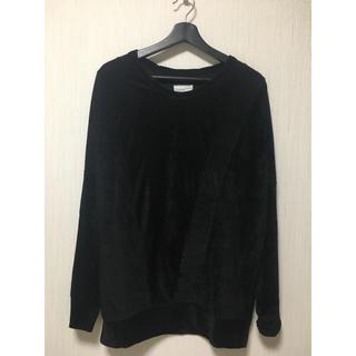 シャリーフ(SHAREEF)のSHAREEF ベロア カットソー(Tシャツ/カットソー(七分/長袖))