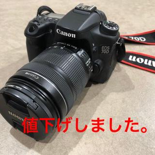 Canon - Canon EOS 70D ボディ +  EF-S 18-135