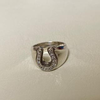 エスオーエスエフピー(S.O.S fp)のSYMPATHY OF SOUL ホースシュー  Silver ジルコニア(リング(指輪))
