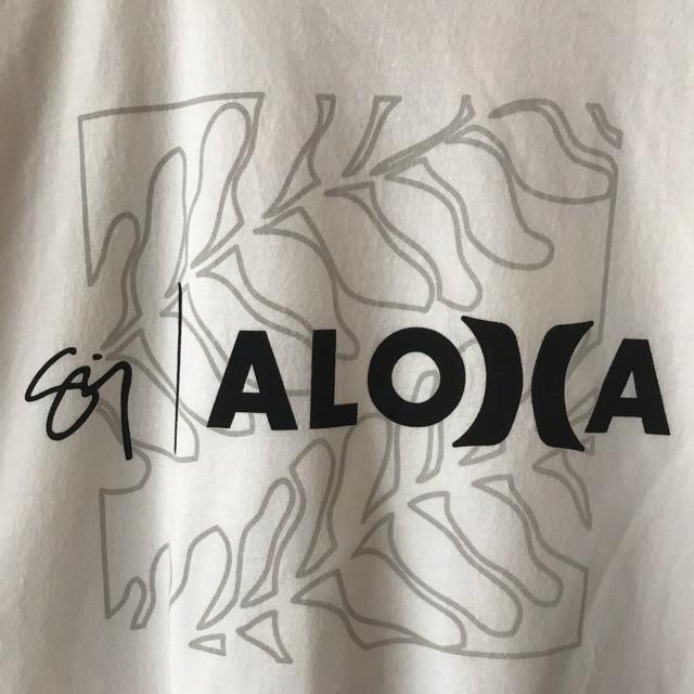 Hurley(ハーレー)のHurley  ハーレー ALOHA アロハ ハワイ Tシャツ 白 ホワイト メンズのトップス(Tシャツ/カットソー(半袖/袖なし))の商品写真
