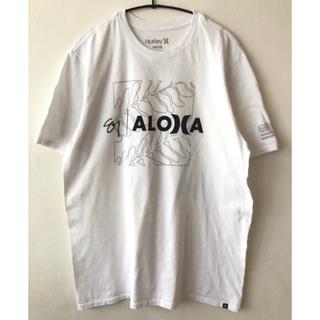 Hurley - Hurley  ハーレー ALOHA アロハ ハワイ Tシャツ 白 ホワイト
