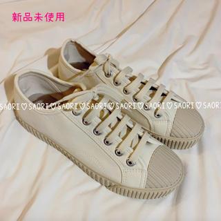 【新品未使用】Canvas Sneakers★TODAYFUL好きに(スニーカー)