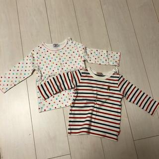 ミキハウス(mikihouse)のミキハウス 長袖Tシャツ 2枚セット(シャツ/カットソー)