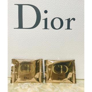 ディオール(Dior)の【新品】ディオール Dior プレステージ ル サヴォン 2個(サンプル/トライアルキット)