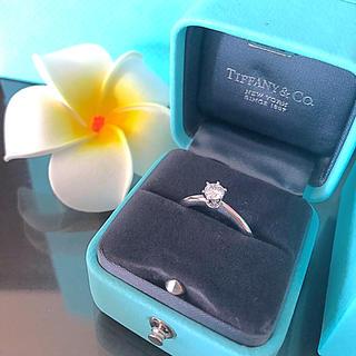 ティファニー(Tiffany & Co.)のティファニー 婚約指輪 0.32ct(リング(指輪))