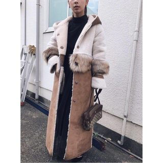 アメリヴィンテージ(Ameri VINTAGE)のAmeri VINTAGE  FUR DOCKING MOUTON COAT(ムートンコート)