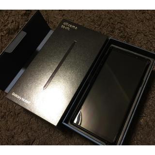 ANDROID - 新品 galaxy note9 simフリー SC-01L ブラック