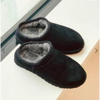 アグ(UGG)の【新品未使用】UGG Classic Slipper ブラック 27cm(スリッポン/モカシン)