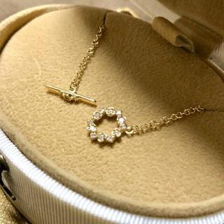 お値下げ!アベリ K18YG ダイヤモンド ブレスレット(ブレスレット/バングル)