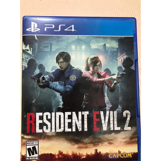 PlayStation4 - resident evil 2 biohazard re2