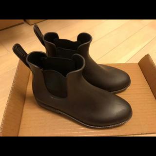 レインブーツ ショートブーツ サイドゴアブーツ(レインブーツ/長靴)