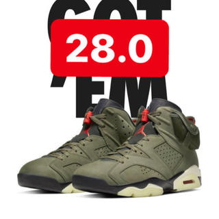 NIKE - 【最安値/28cm/US10】AIR JORDAN 6 Travis Scott