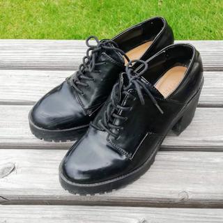 ザラ(ZARA)のZara エナメルブーツ size36(ブーツ)